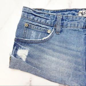 Free People Shorts - REE PEOPLE Irreplaceable Cutoff Jean Shorts Sz 26